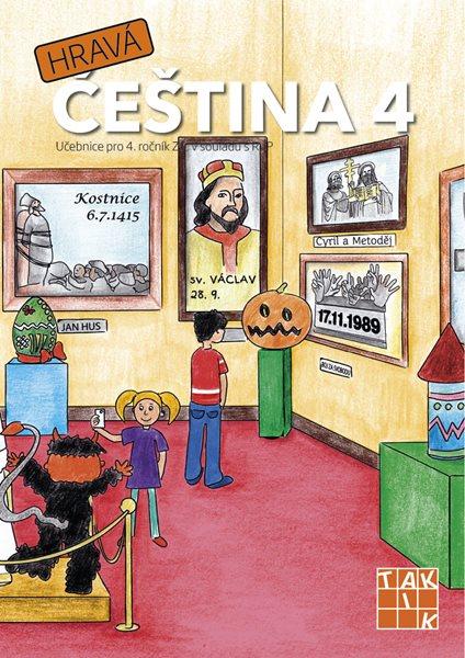 Hravá čeština 4 – učebnice