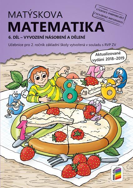 Matýskova matematika pro 2. ročník 6. díl - učebnice - aktualizované vydání 2019 - A4