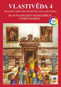 Vlastivěda 4 - Hlavní události českých dějin - pracovní sešit (barevný)