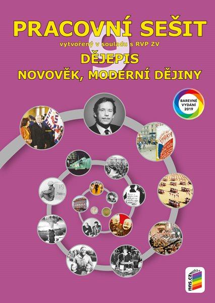 Dějepis 9 - Novověk, moderní dějiny - pracovní sešit - A4