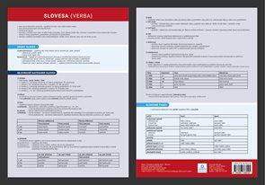 Přehledová tabulka učiva - Slovesa