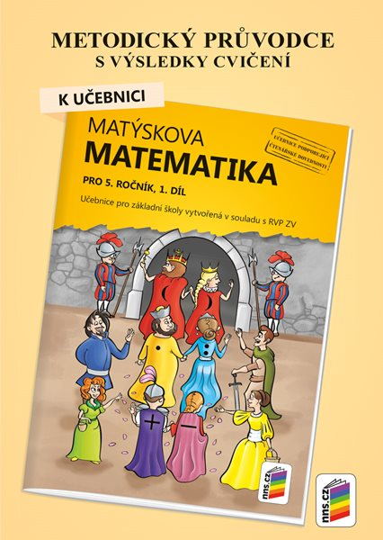Matýskova matematika pro 5.ročník, 1.díl - metodický průvodce - A5
