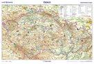 Česko – vlastivědná / obrysová mapa, 1 : 1 100 000, 2. vydání