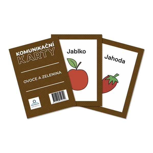 Komunikační karty PAS - Ovoce a zelenina