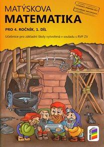 Matýskova matematika pro 4. ročník, 1. díl - učebnice