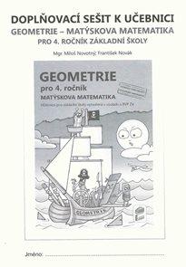 Doplňkový sešit k učebnici Geometrie pro 4. ročník - Matýskova matematika