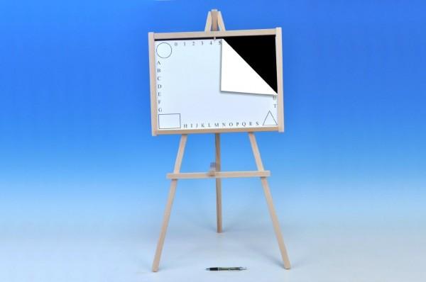 Tabule školní 88x44cm i pro psaní na fólii