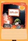 Diplom A5 Čarodějnice a kotlík