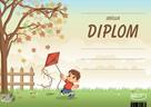 Diplom A5 Podzim kluk s drakem