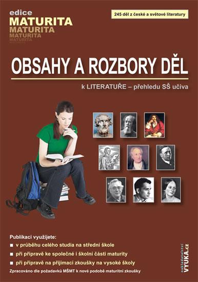 Obsahy a rozbory děl - kolektiv autorů - 17x24 cm