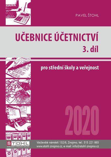 Učebnice účetnictví 2020 pro SŠ - 3. díl