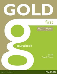 Gold First Corsebook with online Audio (2015 Exams Editions)