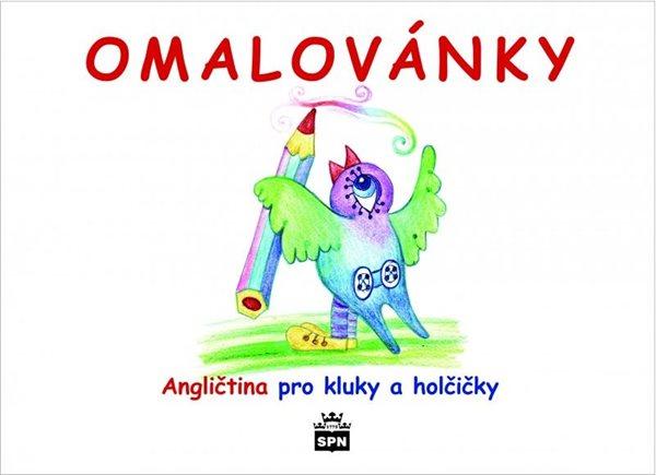 Anglické písničky pro kluky a holčičky - omalovánky - Kořínková M., Kvačková K. - A5
