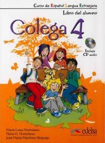 Colega 4 - učebnice + pracovní sešit + CD