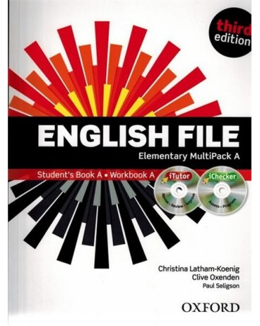 English File Third Ed. Elementary Multipack A - Latham-koenig, Ch. - Oxenden, C. - Selingson, P.