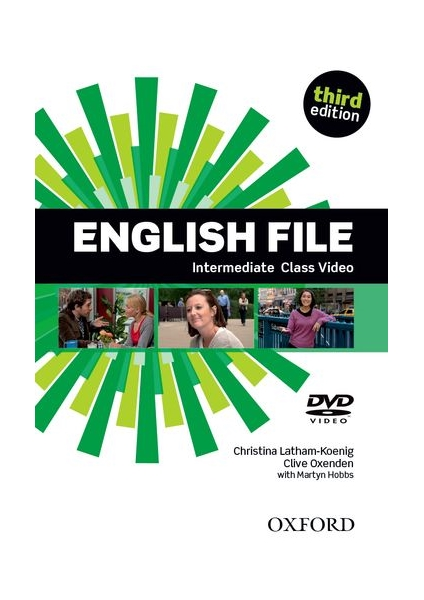English File Intermediate 3. vydání Class DVD - Latham-koenig, Ch. - Oxenden, C. - Selingson, P.