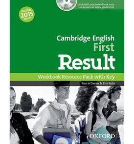 Cambridge English First Result - Workbook with Key and Audio CD