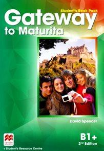 Gateway to Maturita 2nd Edition B1+ - Student's Book Pack