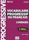 Vocabulaire progressif Avancé Corrigés 3-e éd.