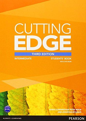 Cutting Edge Intermediate Students Book + DVD-ROM, 3.v. - Cunningham S., Moor P., Bygrave J. - A4