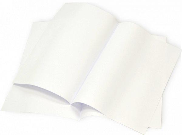 Psací papír dvoulist A4 - čistý