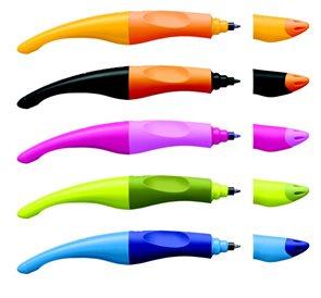 STABILO EASY original  modrá/modrá + 3 náplně l - roller pro leváky