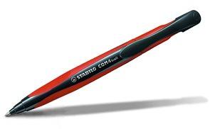 STABILO COM4ball kuličkové pero - červené
