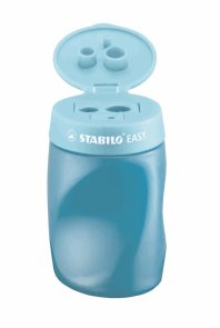 STABILO EASY ořezávátko 3 in 1, P - modré