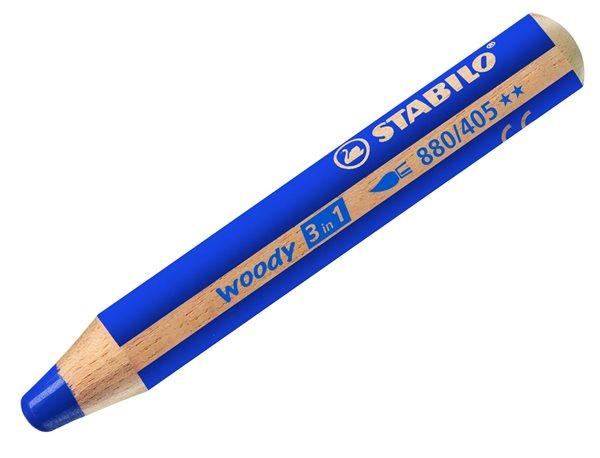 STABILO Woody 3 in 1 - ultramarínová modrá