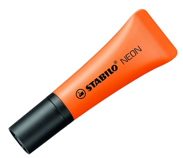 Stabilo NEON Zvýrazňovač - oranžový