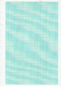 Milimetrový papír list A4