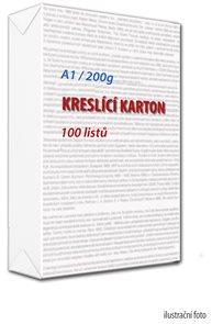 Kreslicí karton A1 200 g - 100 ks