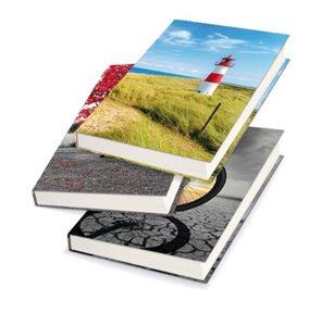 Záznamová kniha A6 100 listů linkovaná - mix motivů