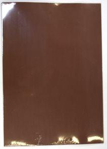 Kreslicí karton barevný A2 125 g - 20 ks - hnědá