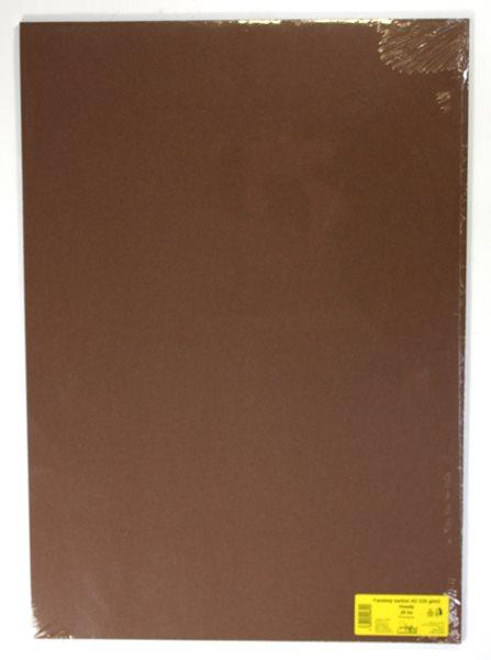 Barevné výkresy A2 225 g - 20 ks - hnědá