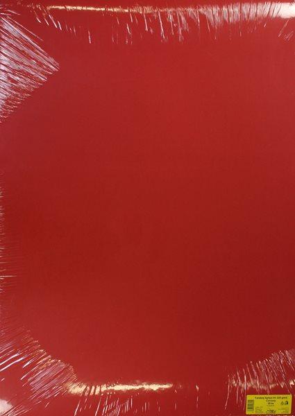 Barevné výkresy A1 225 g - 20 ks - červená