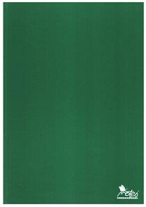 Záznamová kniha A4 100 listů čtverečekovaná - zelená