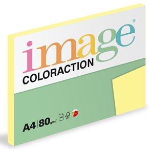Coloraction A4 80g 100ks - Desert/pastelově žlutá