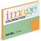 Coloraction A4 80 g - Sytá oranžová 100 ks