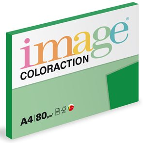 Coloraction A4 80g 100ks - Dublin/tmavě zelená