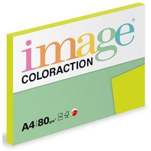 Coloraction A4 80 g 100 ks - Rio/reflexní zelená