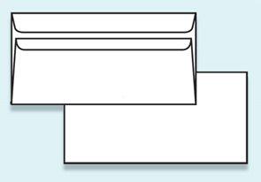Obálka DL samolepicí, bez okénka
