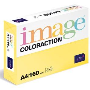 Coloraction A4 160g 250ks - Desert/pastelově žlutá