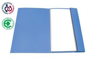 CAESAR OFFICE Odkládací mapa A4 jednoklopá - modrá