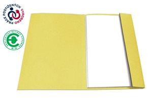 CAESAR OFFICE Odkládací mapa A4 jednoklopá - žlutá
