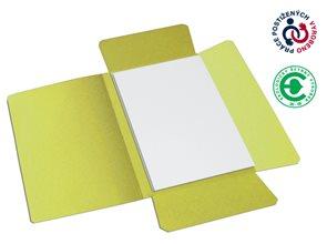 CAESAR OFFICE Odkládací mapa A4 tříklopá - žlutá