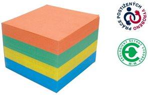 CAESAR OFFICE Špalíček lepený barevný EKO 10x10x6