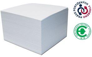CAESAR OFFICE Špalíček nelepený 85x85x40 - náhradní náplň bílá