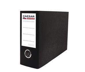 CAESAR OFFICE SENATOR pořadač pákový A5 8 cm, na šířku - černý