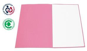CAESAR OFFICE Odkládací mapa A4 bezklopá - růžová